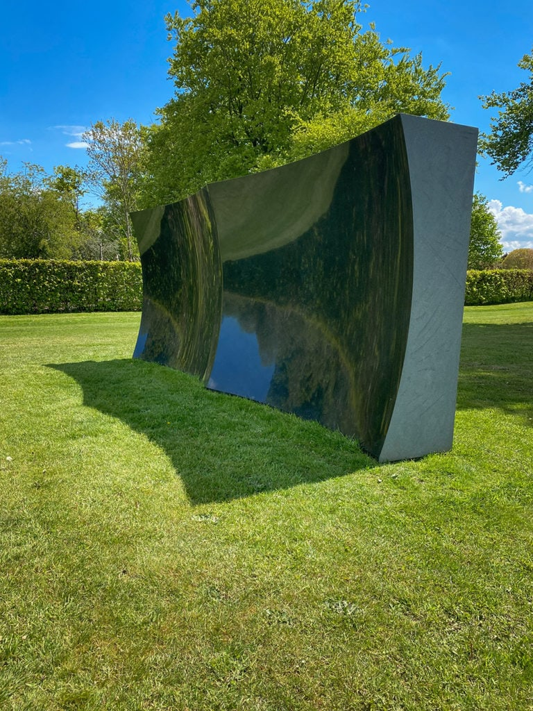 untitled by Anish Kapoor at Houghton Hall
