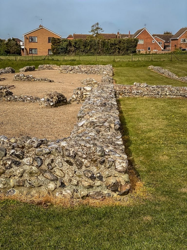 caister fort ruins