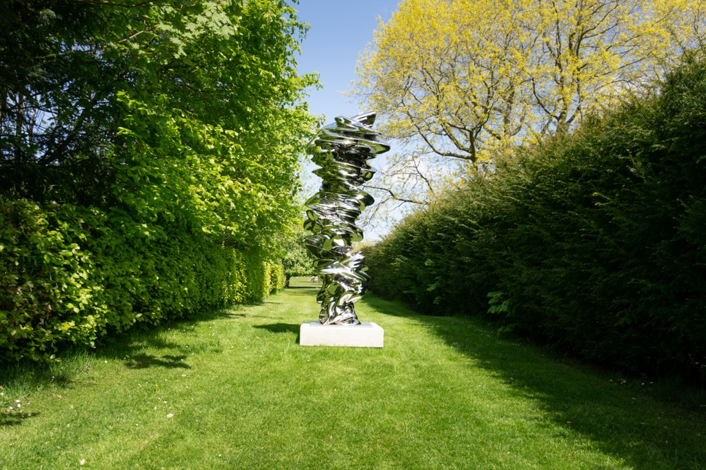 It is It Isn't by tony cragg on display at Houghton Hall in Norfolk England