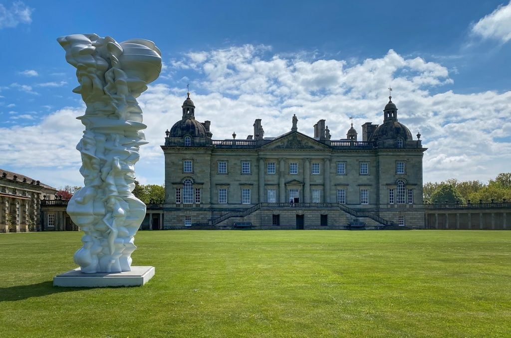 mean average by tony cragg at houghton hall