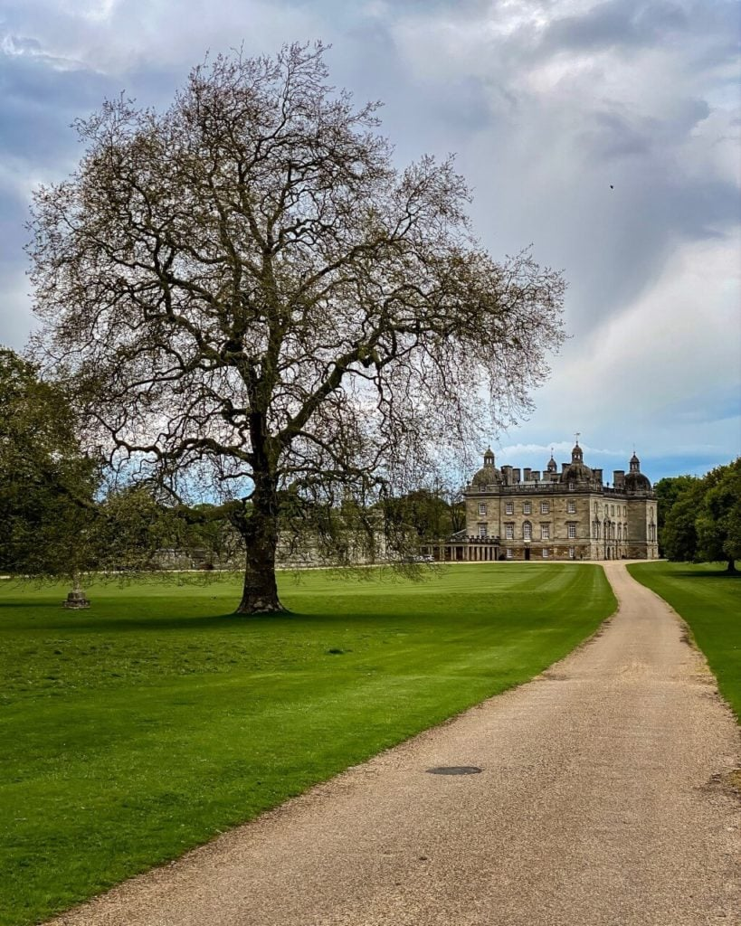 Houghton Hall in Norfolk England