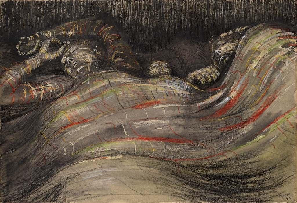 shelter sleeps by henry moore