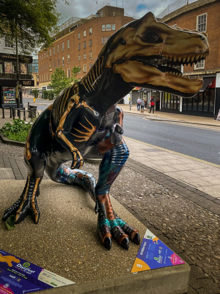 60 million years from the gogodiscover trex trail in norwich