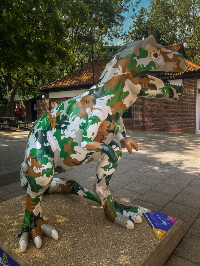 do you think they saurus? from the gogodiscover trex trail in norwich