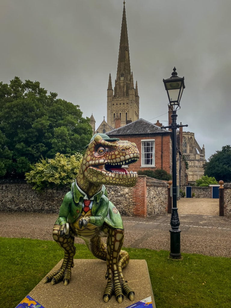 lost holmes from the gogodiscover trex trail in norwich