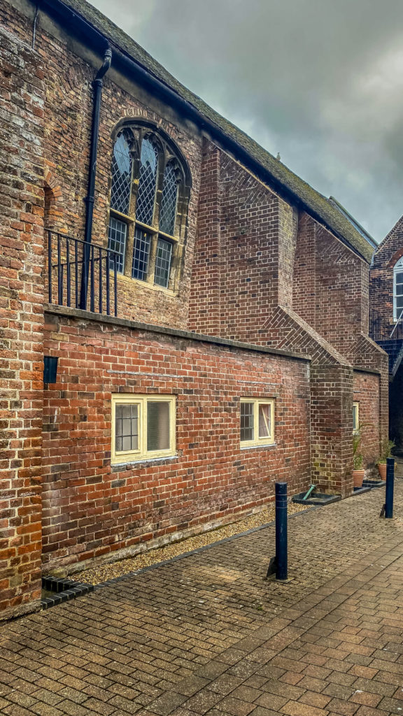 outside view of st george's guildhall in king's lynn