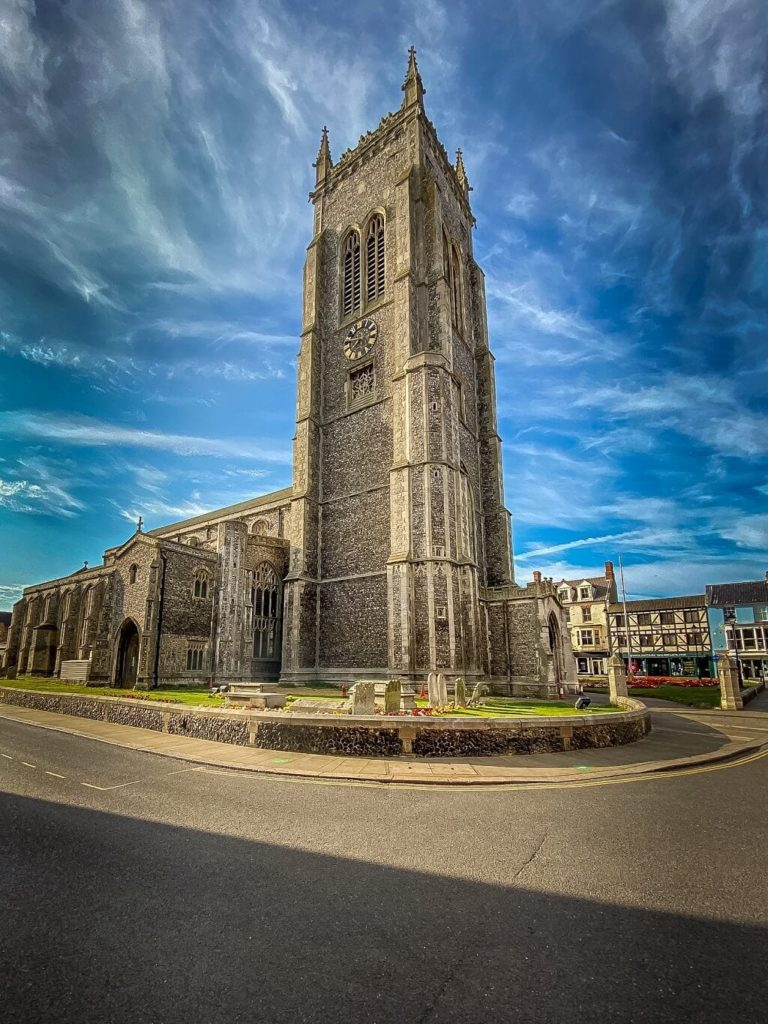 Church of St. Peter and St. Paul in Cromer Norfolk
