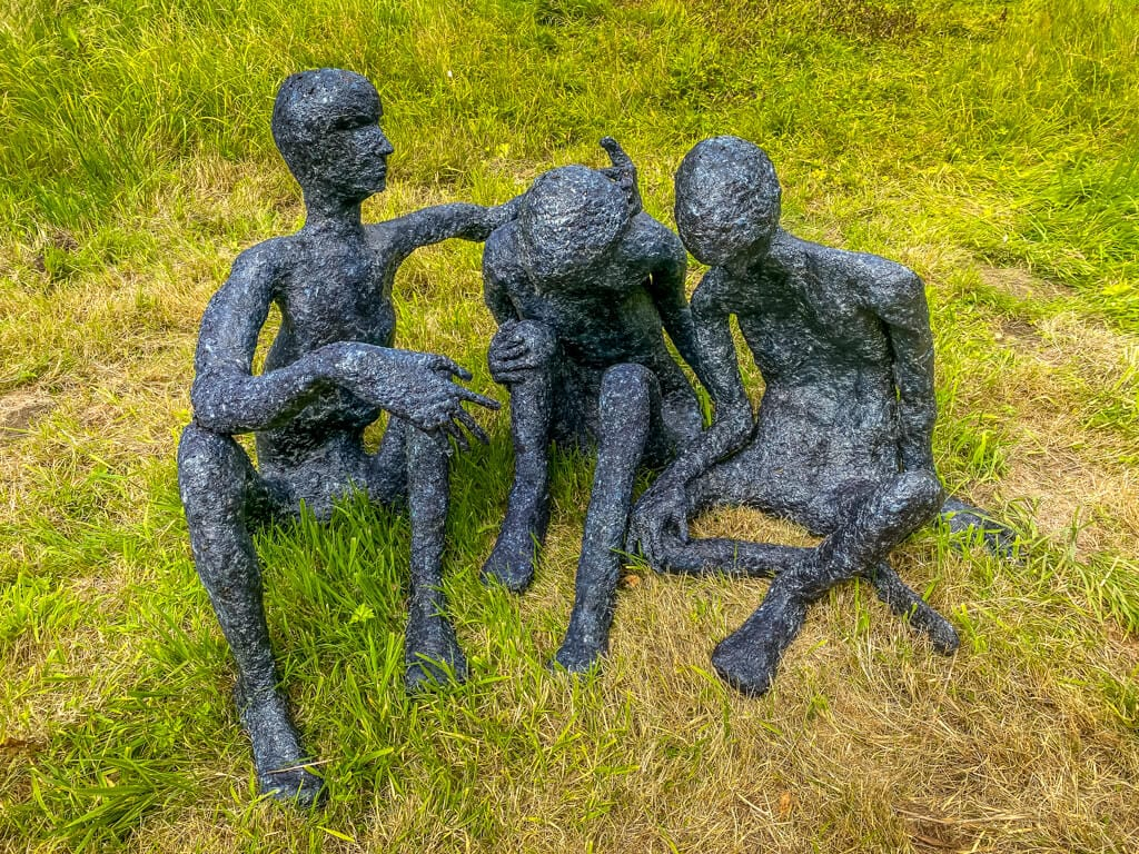 ruth brumby work from raveningham sculpture trail