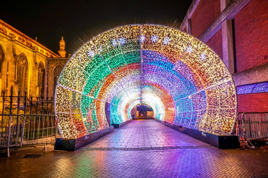 norwich tunnel of lights