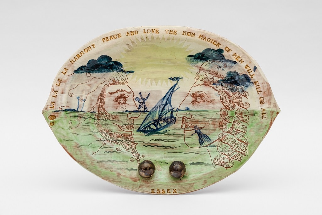 Essex Plate by Grayson Perry